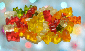 We use gummy bears in our pick and mix 1kg bags