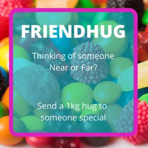 Send a hug to a friend