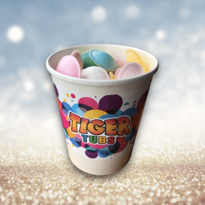 Flying Saucers Sweets Tub